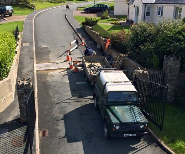 plant hire landscaping in pembrokeshire