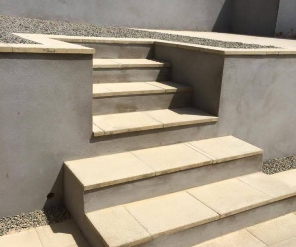 landscaping in pembrokeshire steps