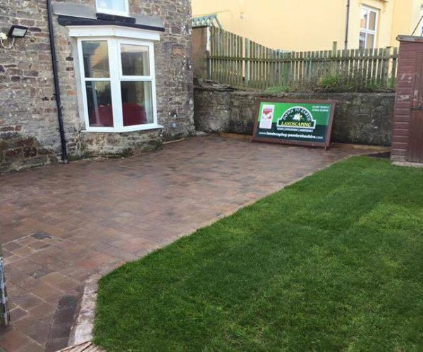 landscaping in pembrokeshire sign