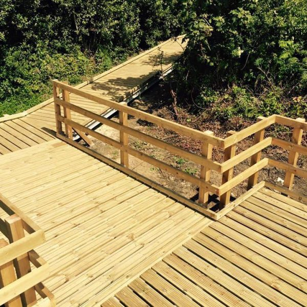 decking pembrokeshire landscaping