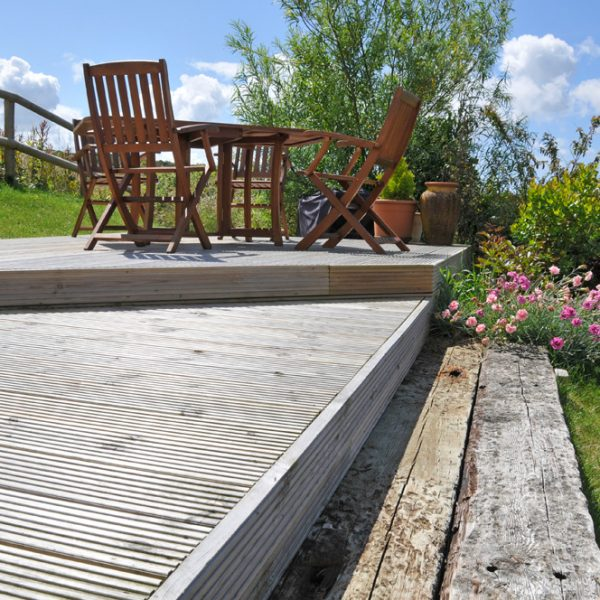 decking in pembs pembrokeshire landscaping