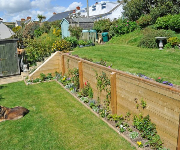 lawn care dog wooden structures pembrokeshire