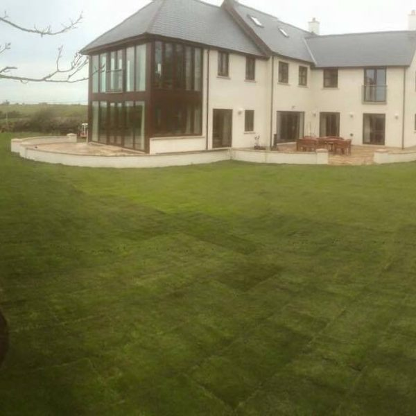 lawn care top soil pembrokeshire landscaping