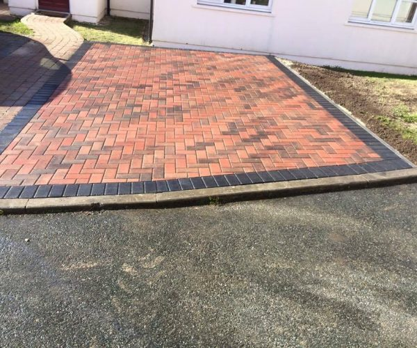 landscaping in pembrokeshire block paving