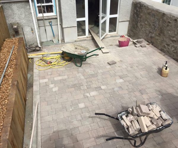 brick work landscaping in pembrokeshire