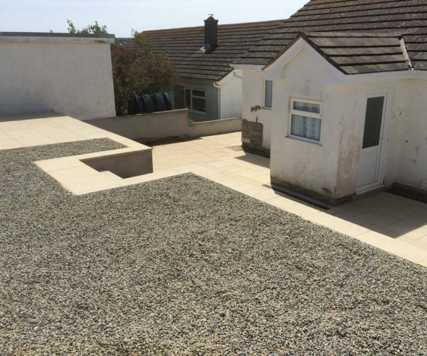 ornamental gravel landscaping in pembrokeshire