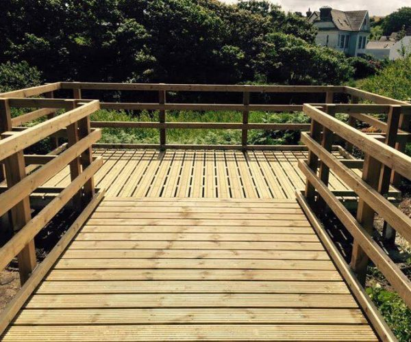 wood structures pembrokeshire landscaping