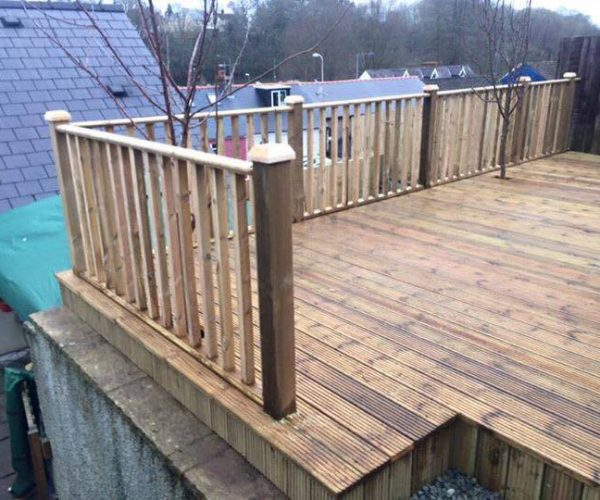 decking in pembrokeshire pembrokeshire landscaping