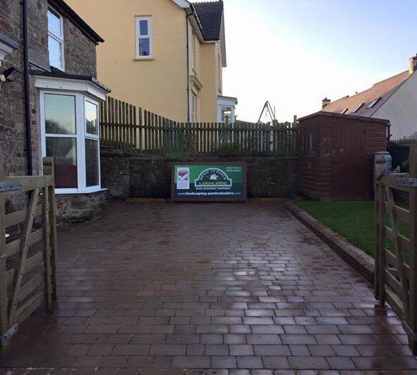 block paving in pembrokeshire