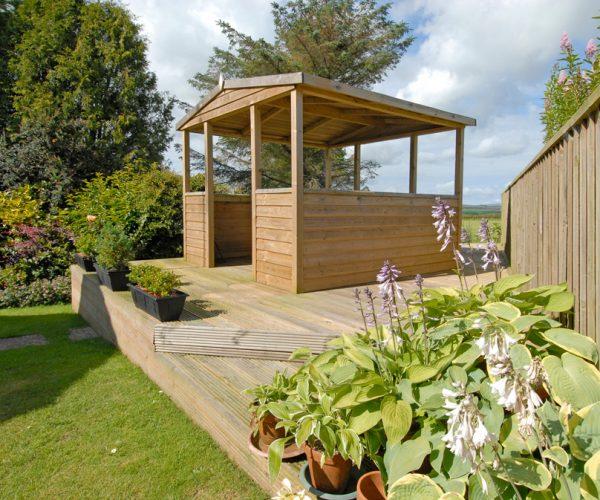 decking garden design pembrokeshire