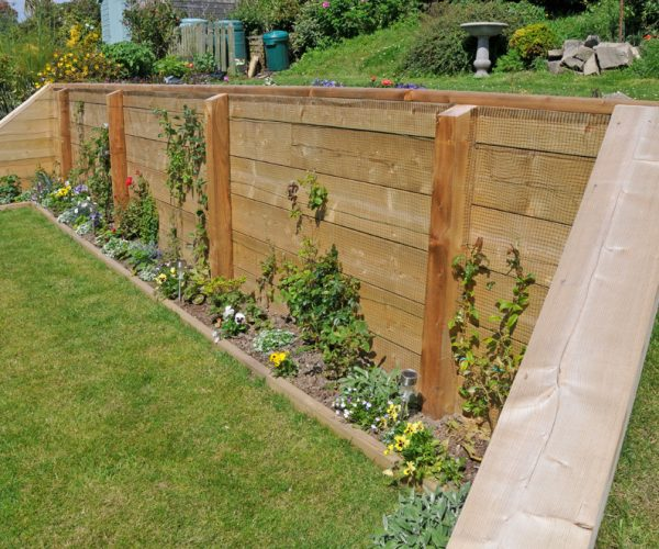wooden structures garden design by down to earth